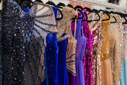 dresses-lined-up