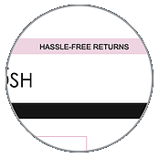 Returns offer in the promotional banner